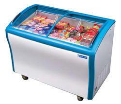 Commercial Refrigeration Glass Top Deep Freezer