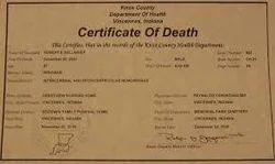 services birth death registration