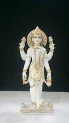 Parwati Mata Marble Statue