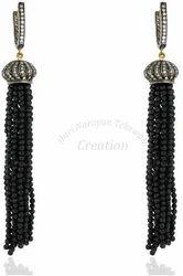 Tassel+Designer+Earrings