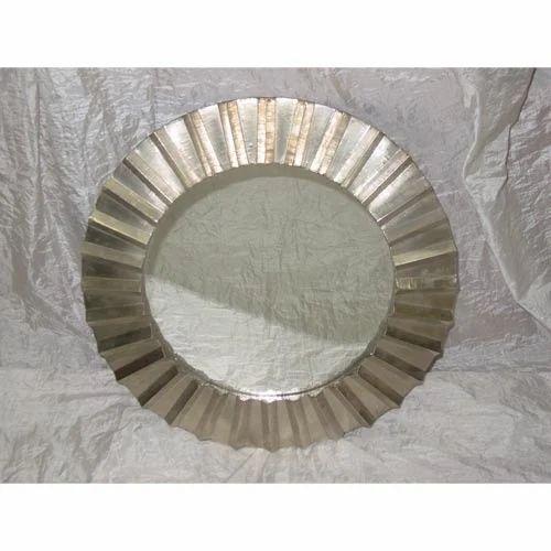 White Metal Cladding Mirror