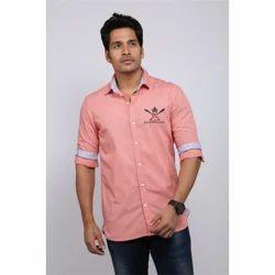 Linen Shirts - Designer Pink Linen Shirt Wholesale Trader from Chennai