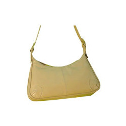 Yellow Leather Sling Bags