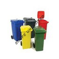 Color Coded Plastic Bins