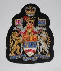 Canadian Regiment Sergeant Major Arm Badge
