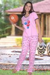 Girls Printed Pajamas