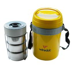 jumbo tiffin with 3 ss containers