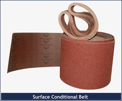 surface conditioning belt roll