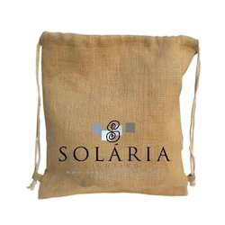 Solaria Printed Drawstring Bag