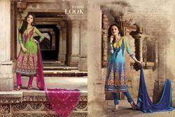 Multicoloured Salwar Kameez