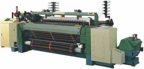 Flexible Rapier Weaving Loom