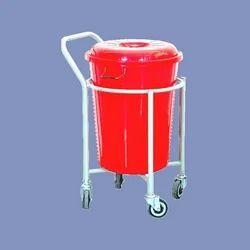 Bucket Soiled Linen Trolley