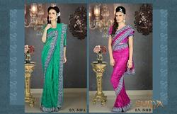 Shandel Net Saree