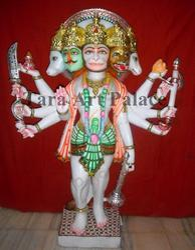 Hanuman Marble Idols