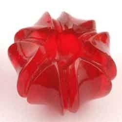 glass carving lotus