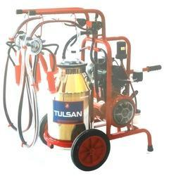 Trolley Model Milking Machine Classic Type Single Bucket Double Milking