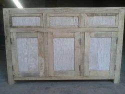 Rough Wood Sideboard