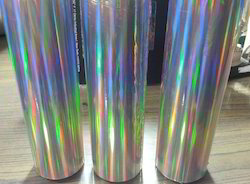 Rainbow Silver Holographic Films