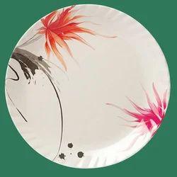 White Glass Plate