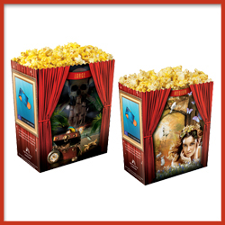 Printed-Popcorn-Containers