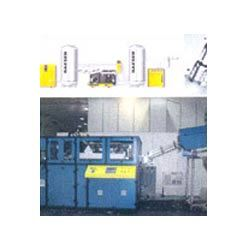 Blow Moulding Machine with Compressor Accessories