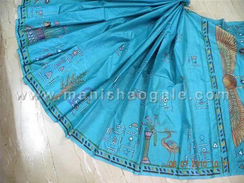 Flower Printed Sarees Printed Sarees Dancing Warli
