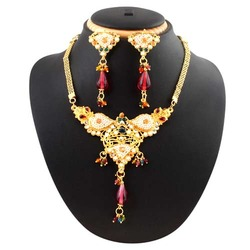 Antique Fashion Necklace Jewelry Set