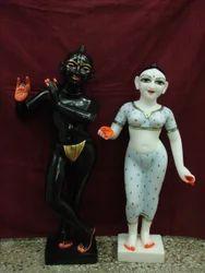 Iscon Radha Krishna Statues
