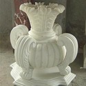 Makrana White Marble Pedestals