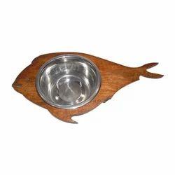 Fish Shaped Dog Bowl