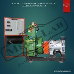 Single Cylinder Four Stock Diesel Engine Test Rig