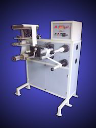 Label Slitting and Counting Machine