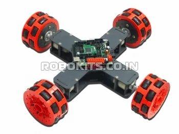 Do it yourself kits robo omni 4 wheeled omni directional robot diy robo omni 4 wheeled omni directional robot diy kit solutioingenieria Image collections