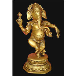 Ganesh Dancing W/Ring