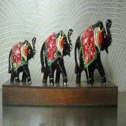 Elephant Statue Set