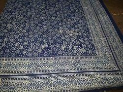 Indigo Print Bed Sheet