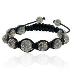 Charm Beads Macrame Bracelet