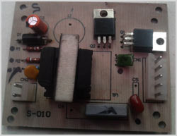 Solar Home Light PCB