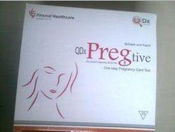 pregnancy test card strips
