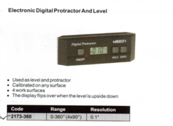Digital Level And Protractor