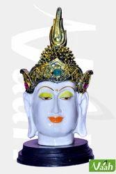 Vaah Resin Crown Buddha White Face
