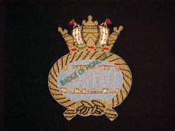 Merchant Navy Blazer Badges