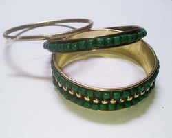 Brass Bangles Set