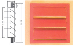 Gravity Air Louver Gravity Louver Suppliers Traders