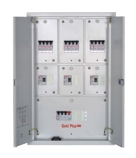 Distribution Board Three Phase Segregated Seven