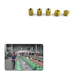 Brass Turned Inserts for Electrical Industry