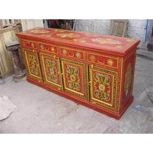Hand Painted Chest Drawer