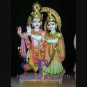 Jugal Radha Krishna Marble Statue