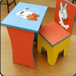 Funky Kids Table Chair