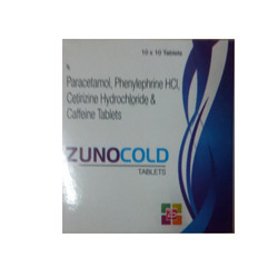 Zunocold Tablet